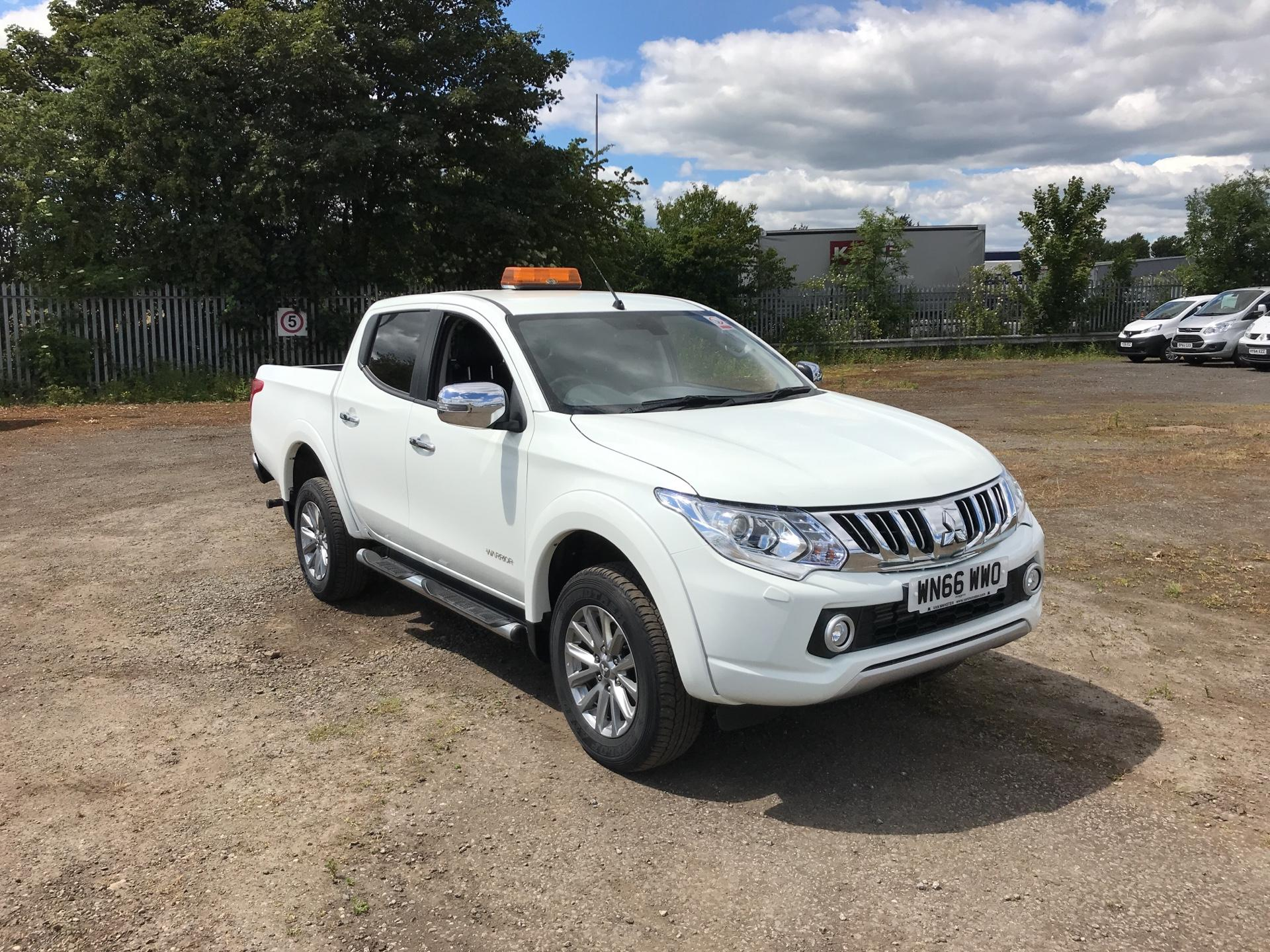2016 Mitsubishi L200 DOUBLE CAB DI-D 178 WARRIOR 4WD AUTOMATIC (WN66WWO)