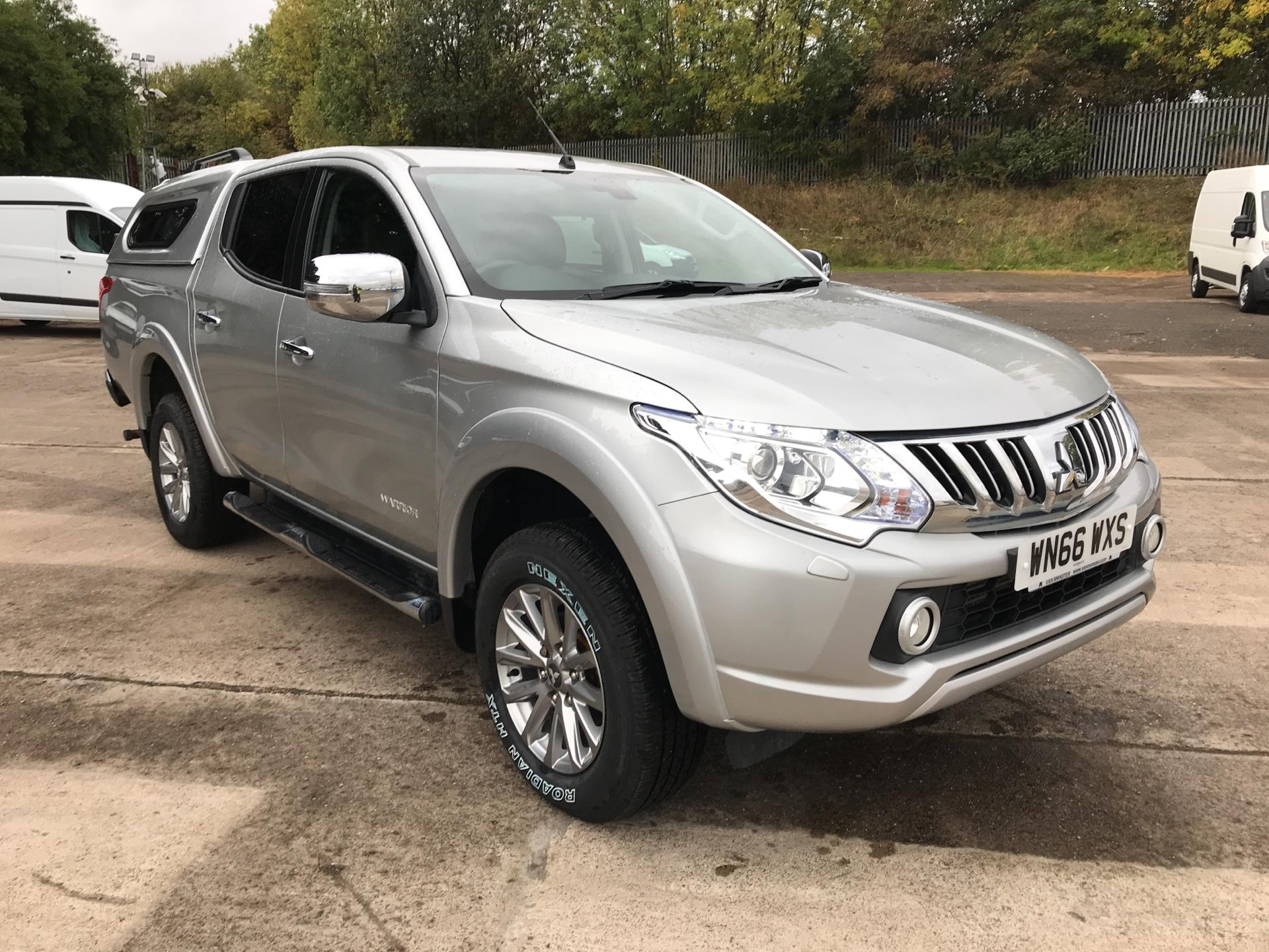 2016 Mitsubishi L200 DOUBLE CAB DI-D 178PS WARRIOR 4WD EURO 5 (WN66WXS)