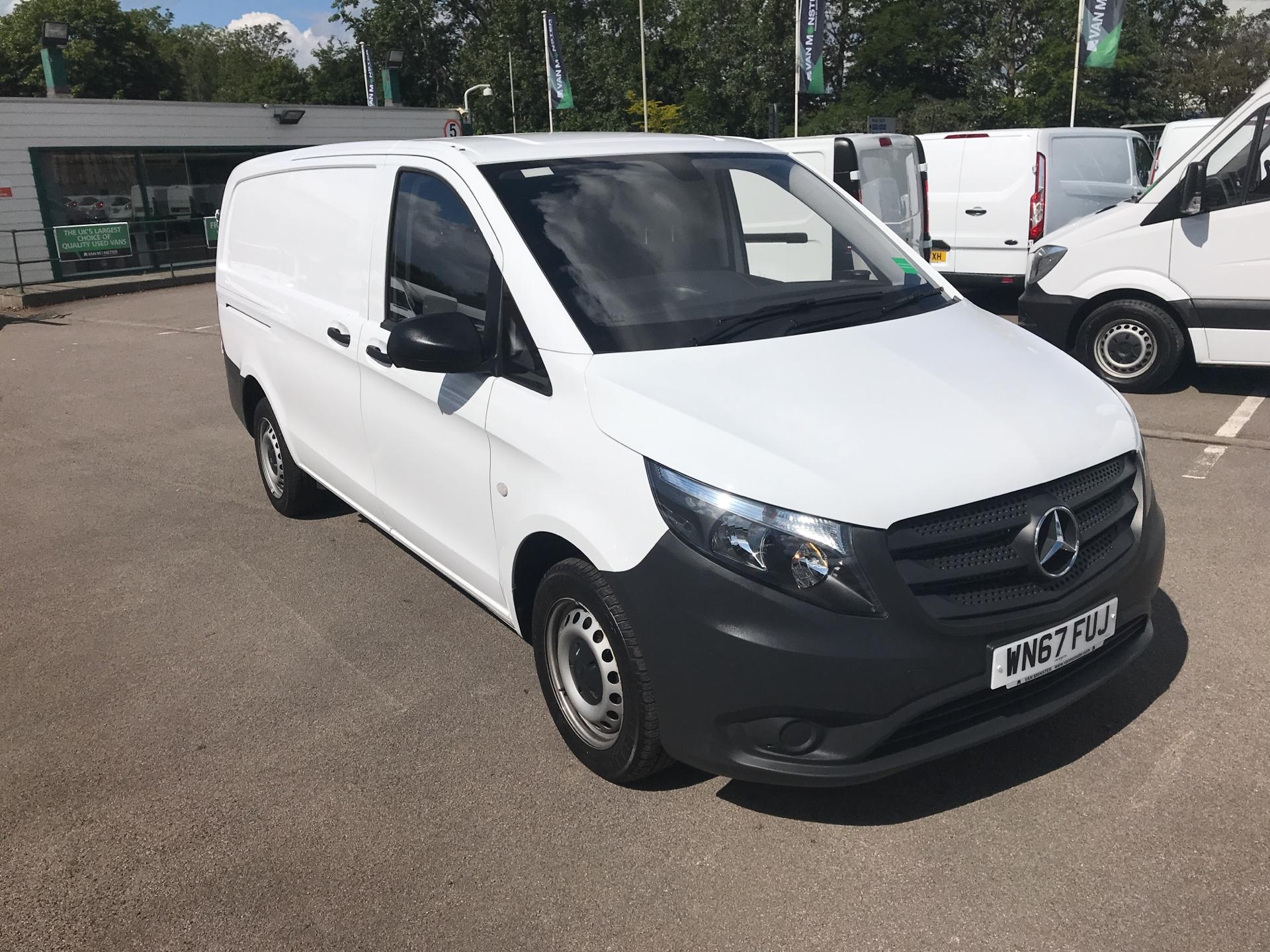 2017 Mercedes-Benz Vito LONG 111CDI VAN EURO 6  (WN67FUJ)