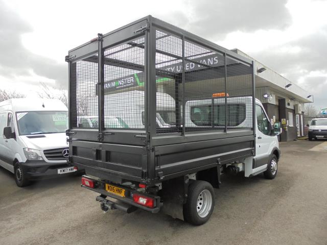 2015 Ford Transit  350 L2 SINGLE CAB TIPPER 100PS EURO 5 (WO15HNF) Image 3