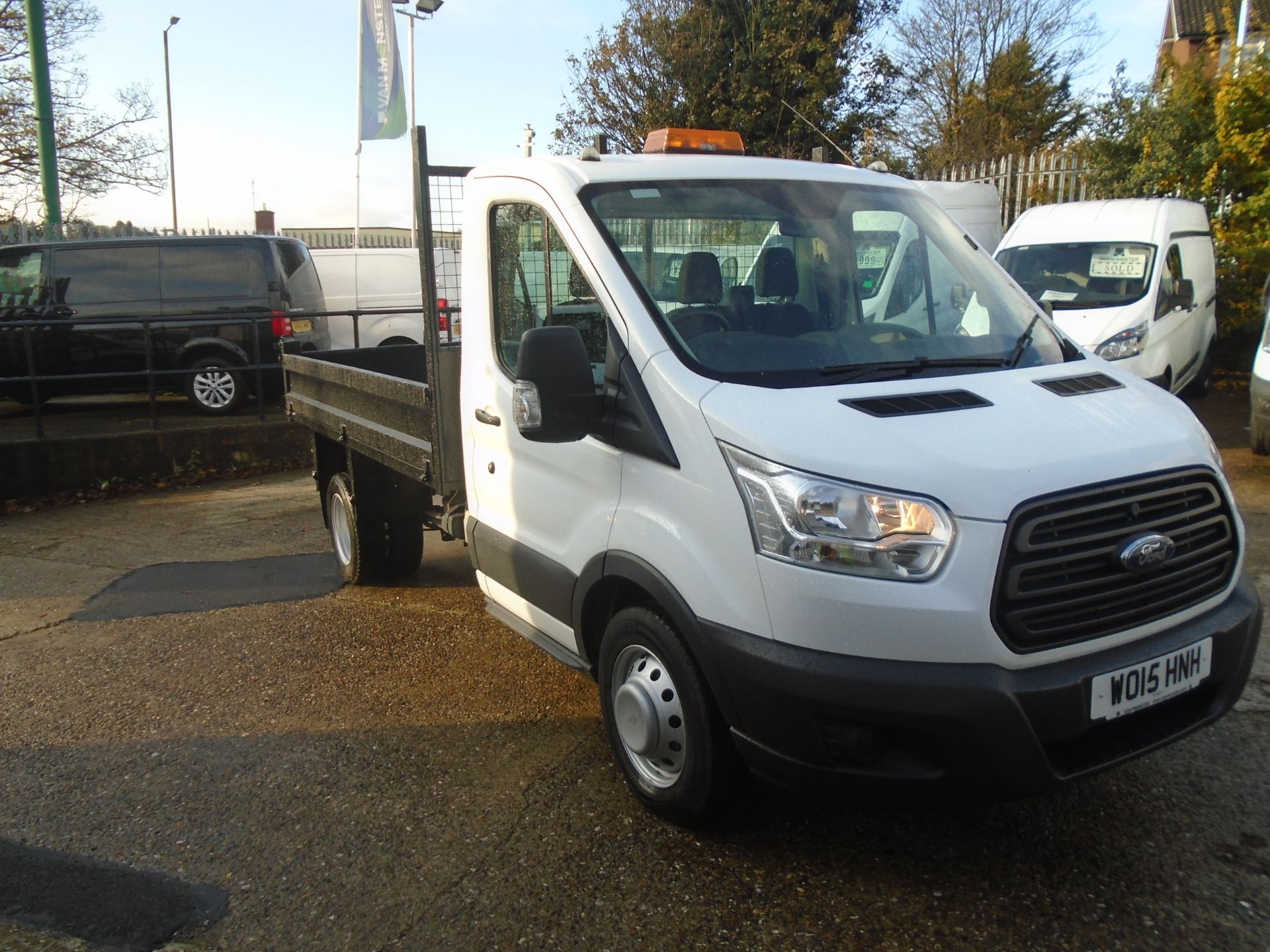 2015 Ford Transit 350 L2 SINGLE CAB TIPPER 125PS EURO 5 (WO15HNH)