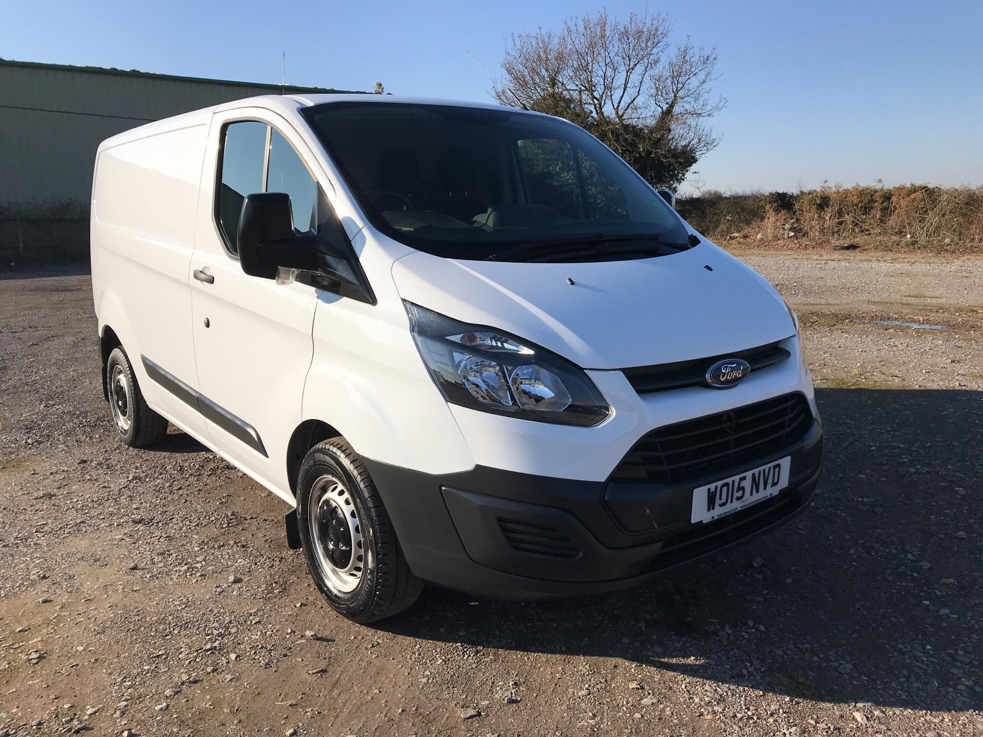 2015 Ford Transit Custom 290 L1 DIESEL FWD 2.2 TDCI 100PS LOW ROOF VAN EURO 5 (WO15NVD)