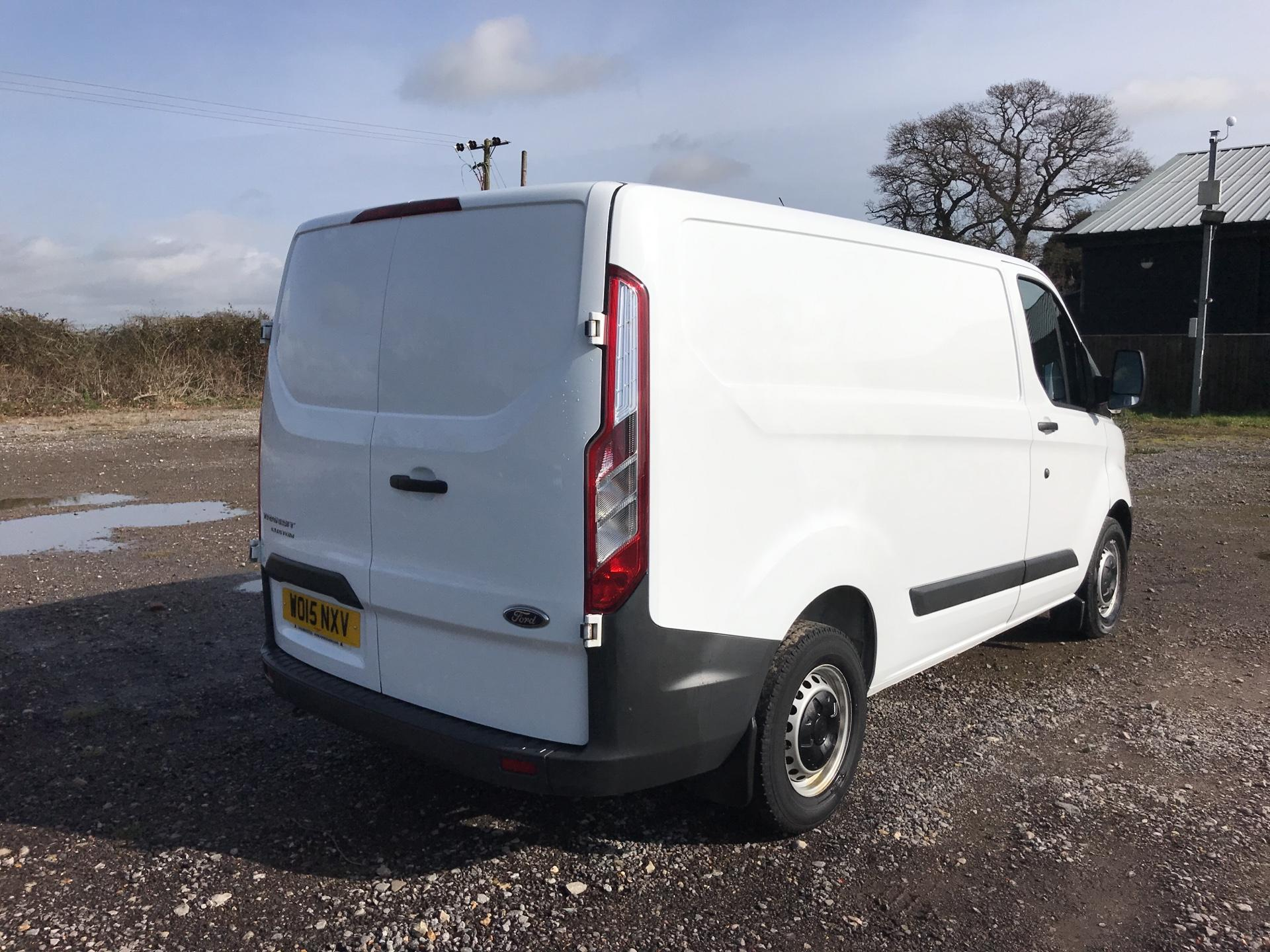 2015 Ford Transit Custom 290 L1 DIESEL FWD 2.2 TDCI 100PS LOW ROOF VAN EURO 5 (WO15NXV) Thumbnail 3