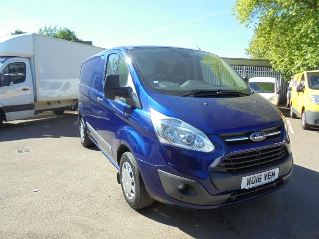2016 Ford Transit Custom 290 L1 DIESEL FWD 2.2 TDCI 125PS LOW ROOF TREND VAN EURO 5 (BLUE) (WO16VEM)