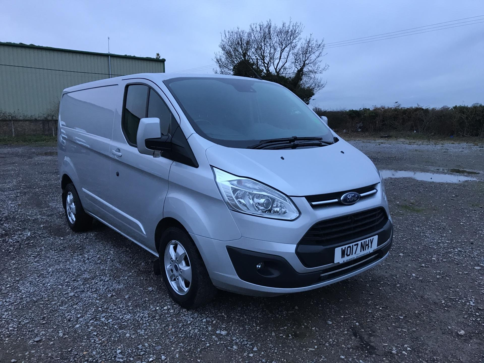 2017 Ford Transit Custom  290 L1 DIESEL FWD 2.0 TDCI 130 PS LOW ROOF LIMITED VAN EURO 6 (WO17NHY)
