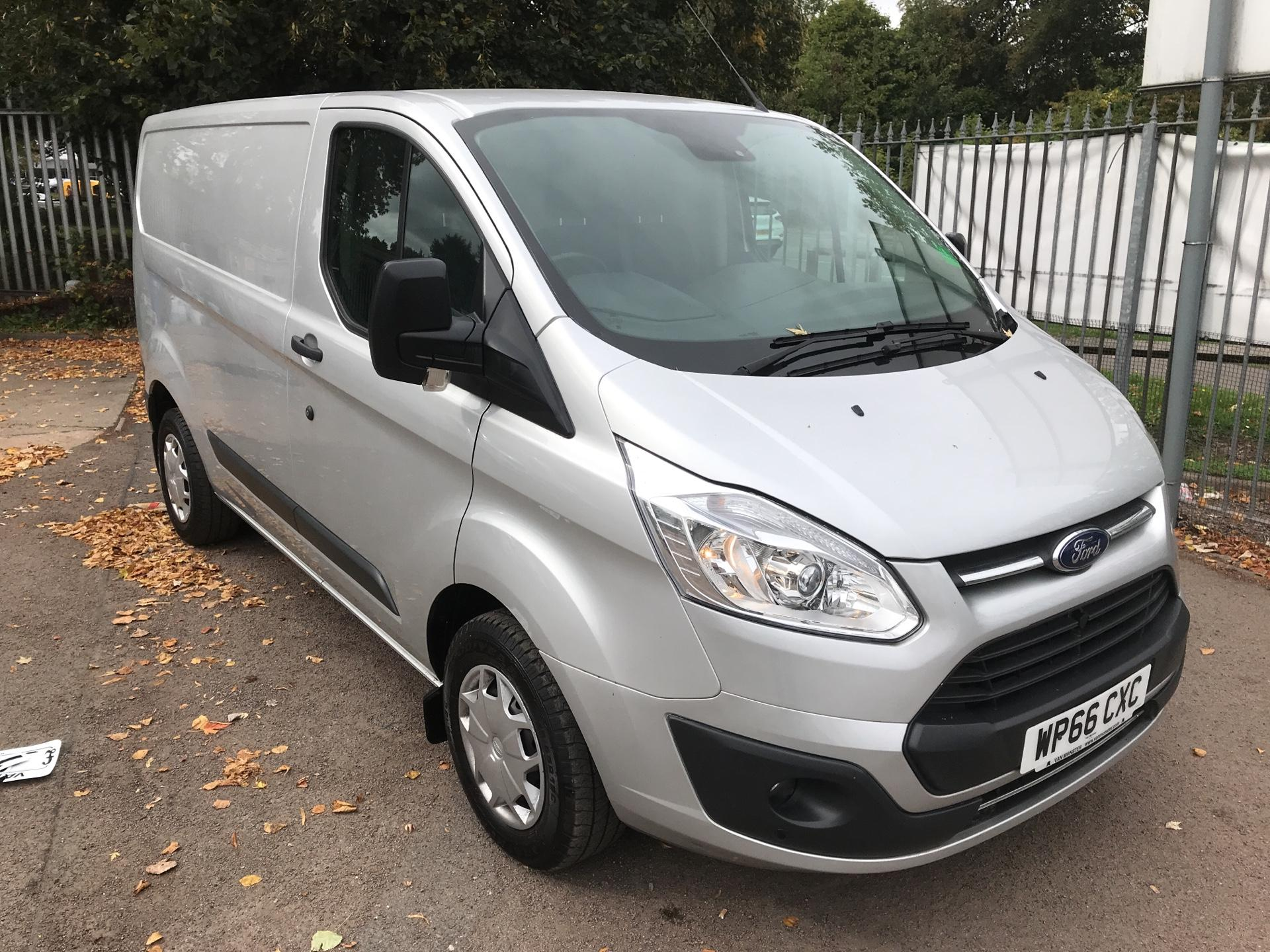2016 Ford Transit Custom 290 L1H1 FWD 2.2 TDCI 105PS L/ROOF (SILVER COLOUR) (WP66CXC)