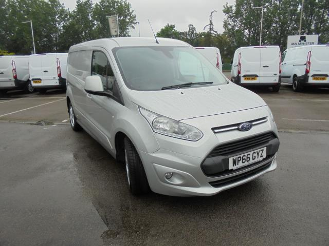 2016 Ford Transit Connect 240 L2 Diesel 1.5 TDCI 120PS Van EURO 5 (Silver) (WP66GYZ)