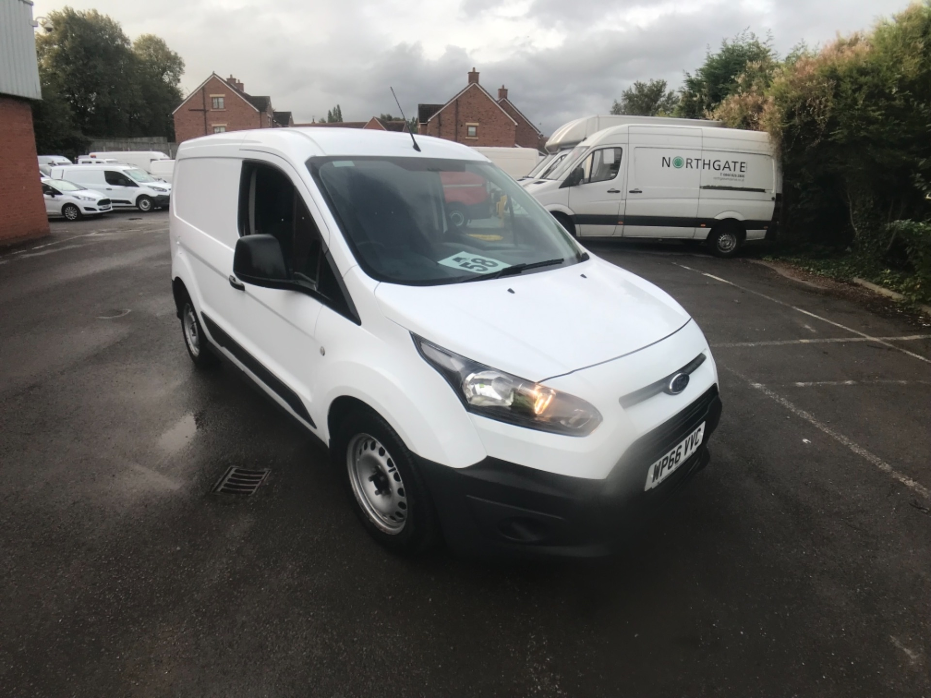 2016 Ford Transit Connect  200 L1 Diesel 1.6 TDCi 75PS Van EURO 5 (WP66VVC)