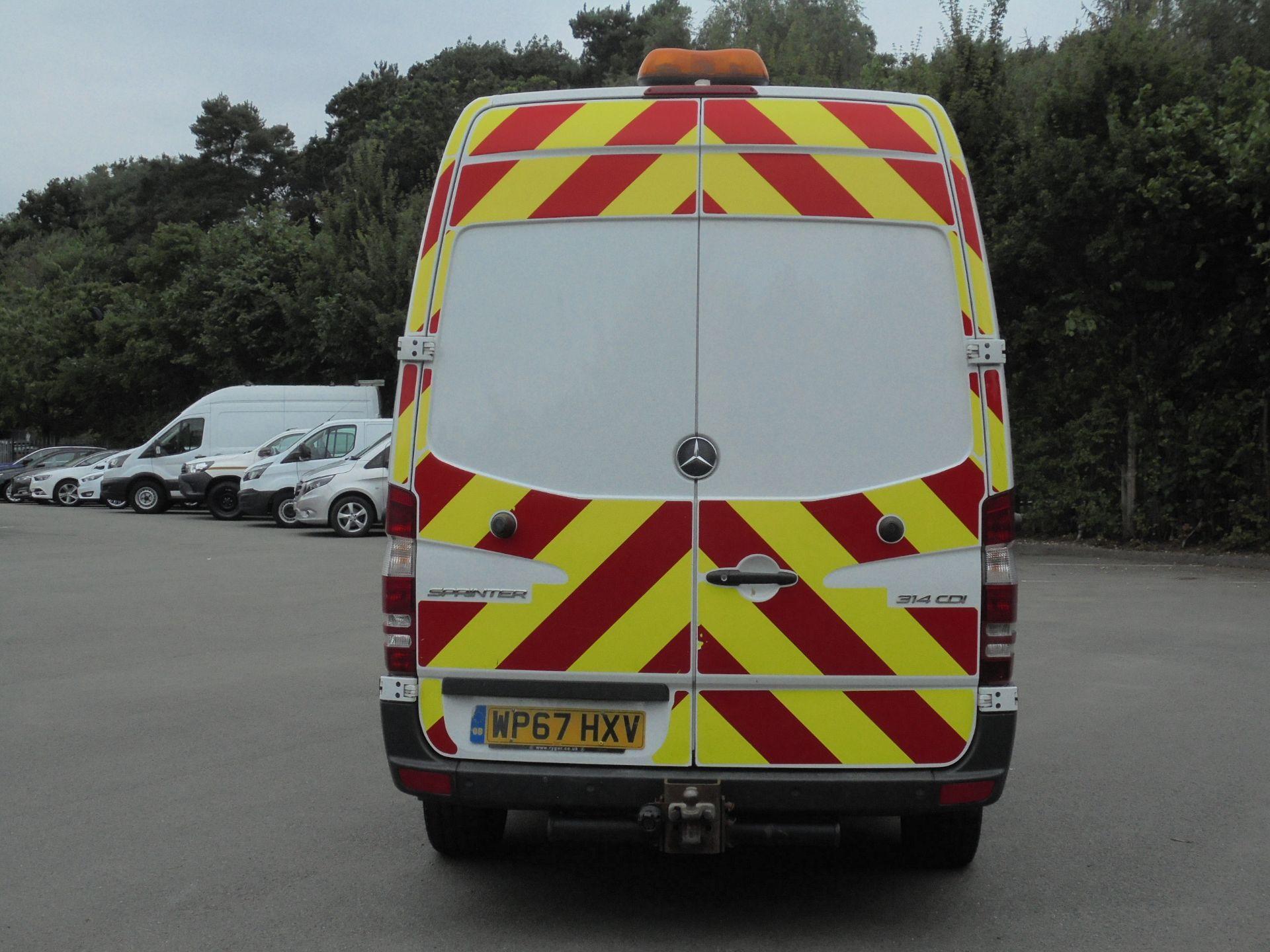 2017 Mercedes-Benz Sprinter 314 CDI 3.5T Van (Automatic) (WP67HXV) Image 8