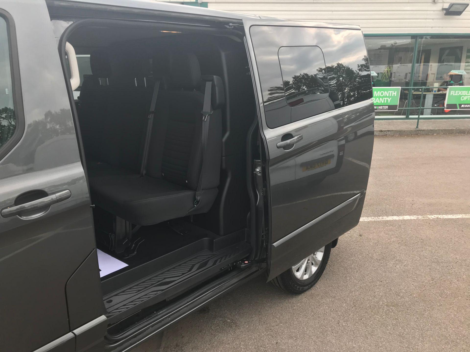 2018 Ford Transit Custom 320 L1 H1  2.0 ECOBLUE 130PS L/R LIMITED  CREW VAN  (WP68WFY) Image 9