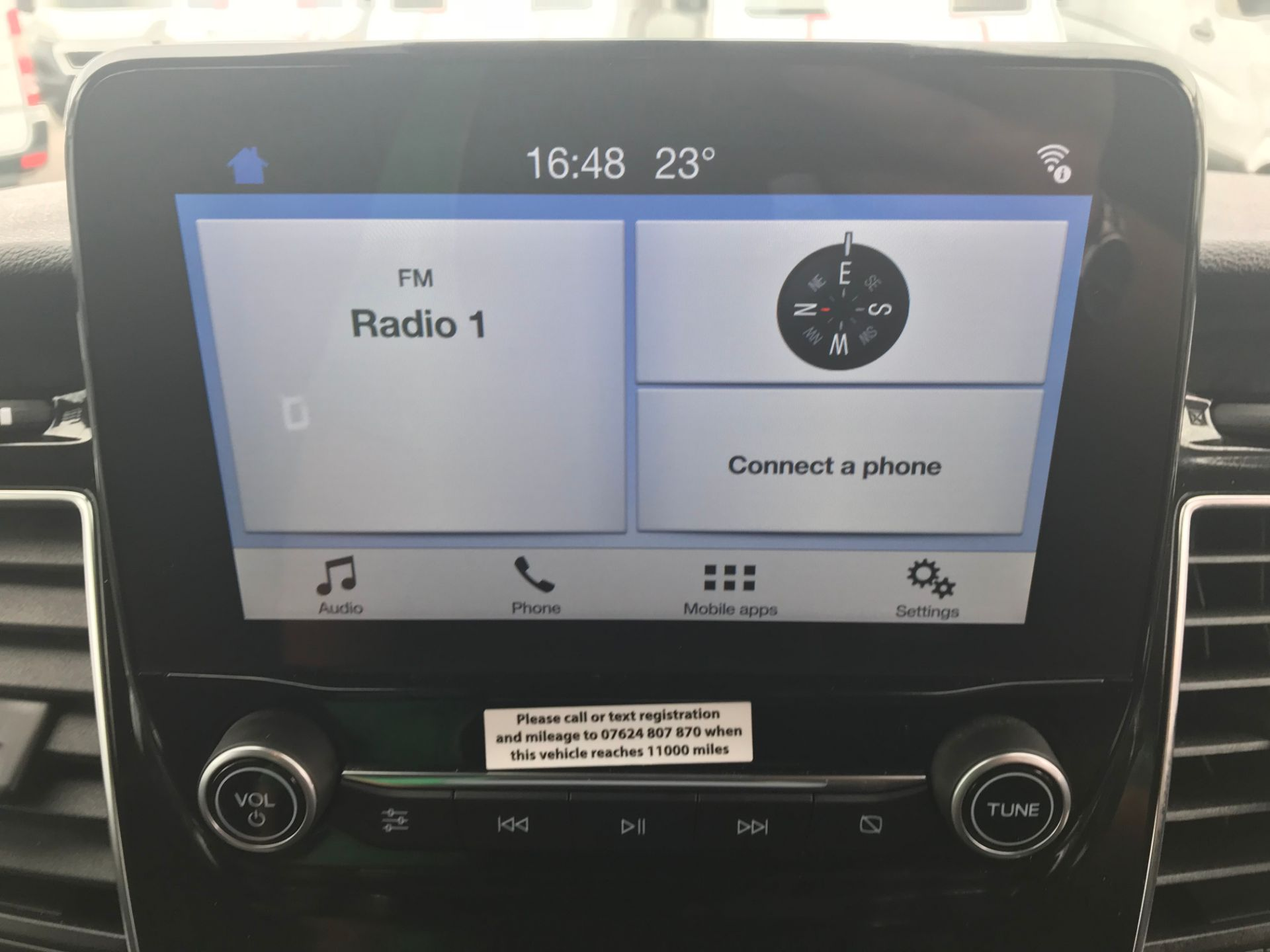 2018 Ford Transit Custom 320 L1 H1  2.0 ECOBLUE 130PS L/R LIMITED  CREW VAN  (WP68WFY) Image 22