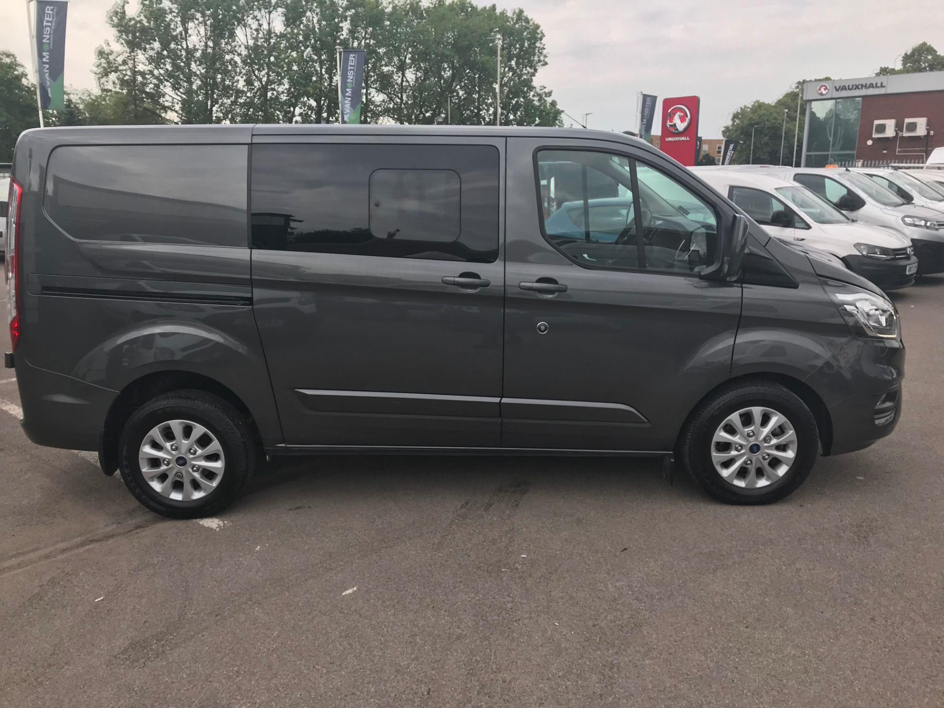 2018 Ford Transit Custom 320 L1 H1  2.0 ECOBLUE 130PS L/R LIMITED  CREW VAN  (WP68WFY) Image 2