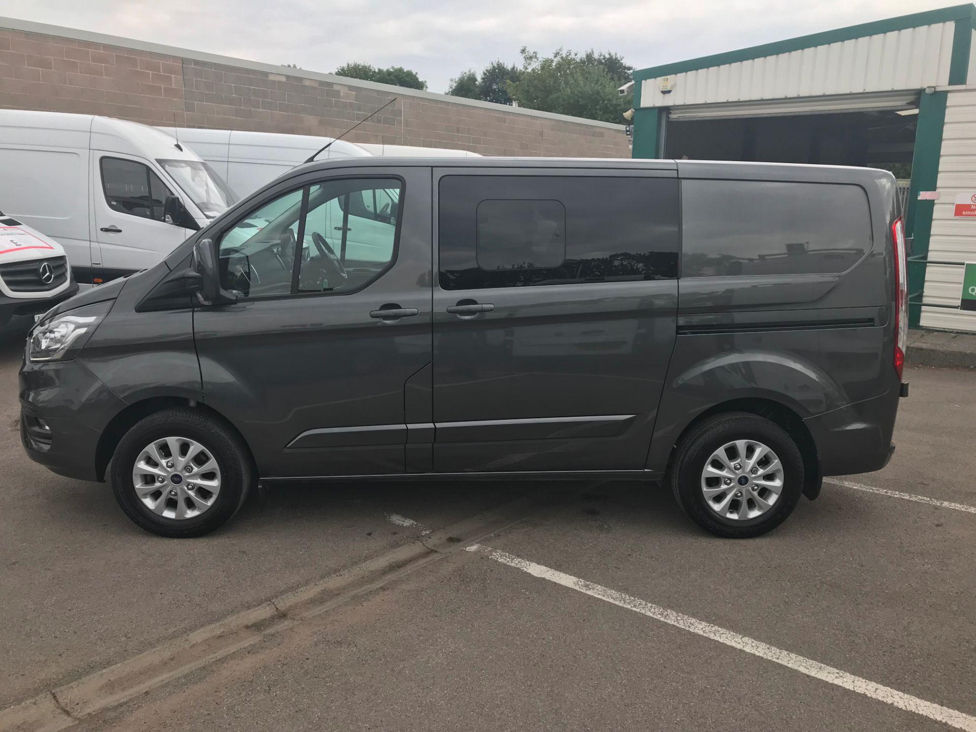 2018 Ford Transit Custom 320 L1 H1  2.0 ECOBLUE 130PS L/R LIMITED  CREW VAN  (WP68WFY) Image 6