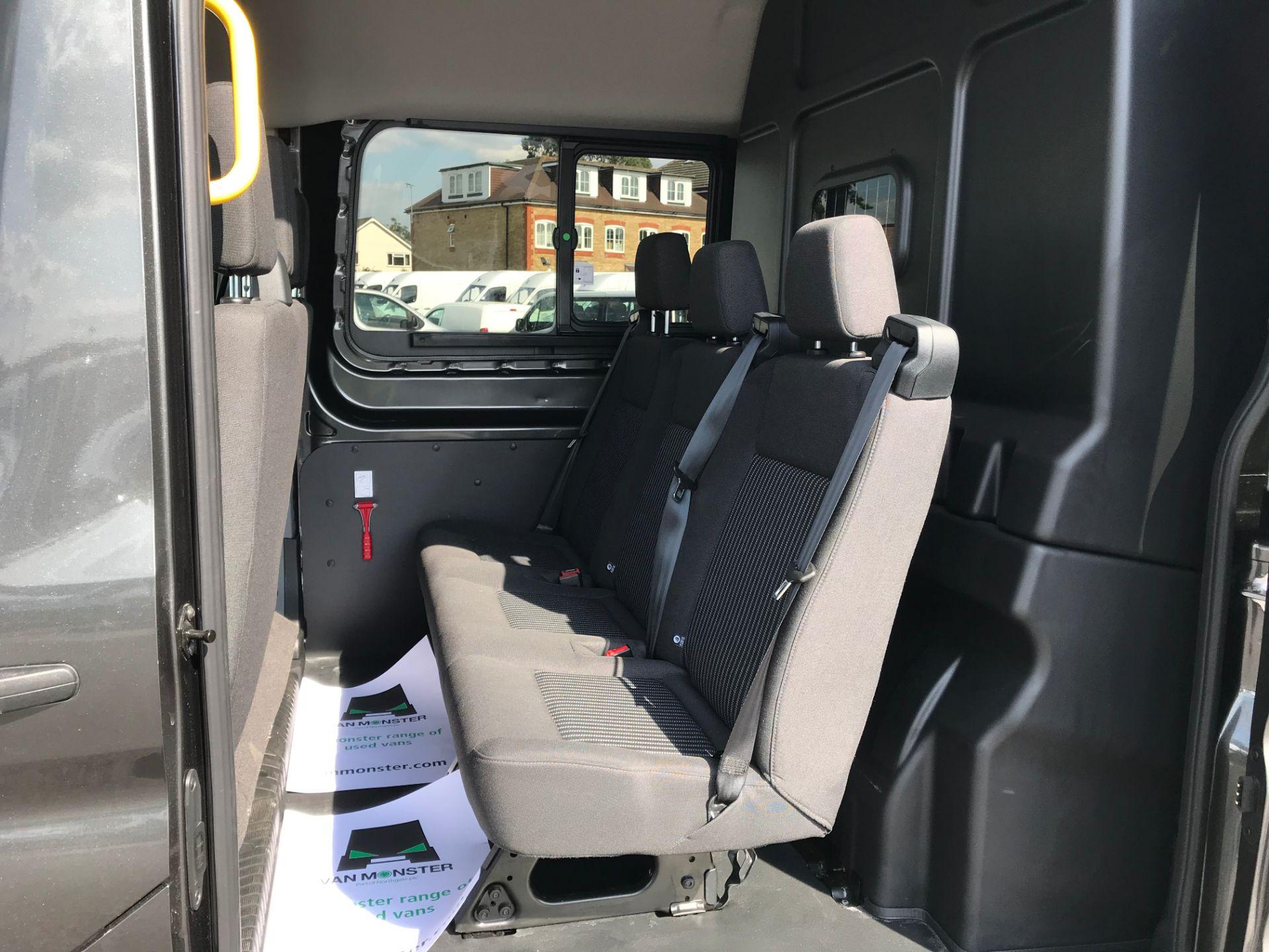 2018 Ford Transit 2.0 TDCi 130ps H2 D/Cab Trend Van Auto (WP68WHL) Image 16