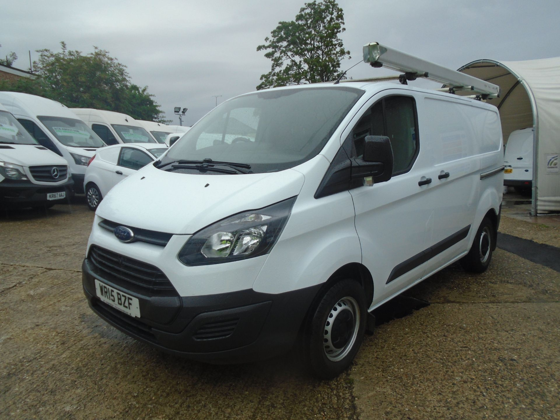 2015 Ford Transit Custom 2.2 Tdci 100Ps Low Roof Van (WR15BZF) Image 3