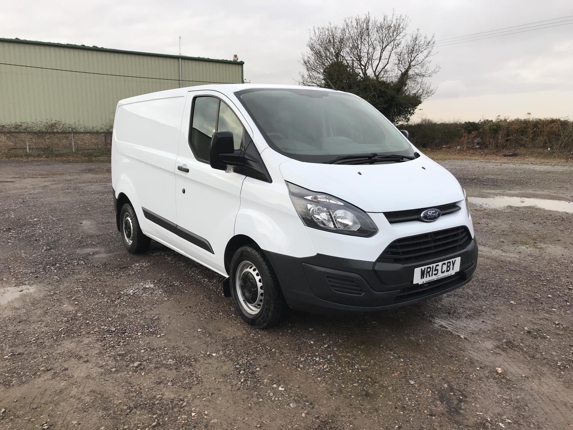 2015 Ford Transit Custom 290 L1 DIESEL FWD 2.2 TDCI 100PS LOW ROOF VAN EURO 5 (WR15CBY)