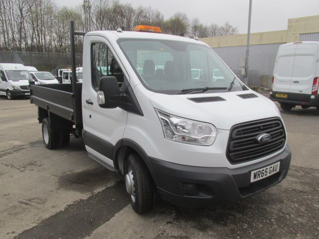 2016 Ford Transit 350 L2 SINGLE CAB TIPPER 125PS EURO 5 (WR65GAU)