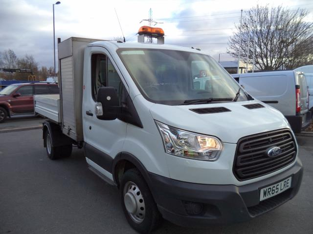 2015 Ford Transit 2.2 Tdci 125Ps Single Cab Tipper with Lock Box (WR65LRE)