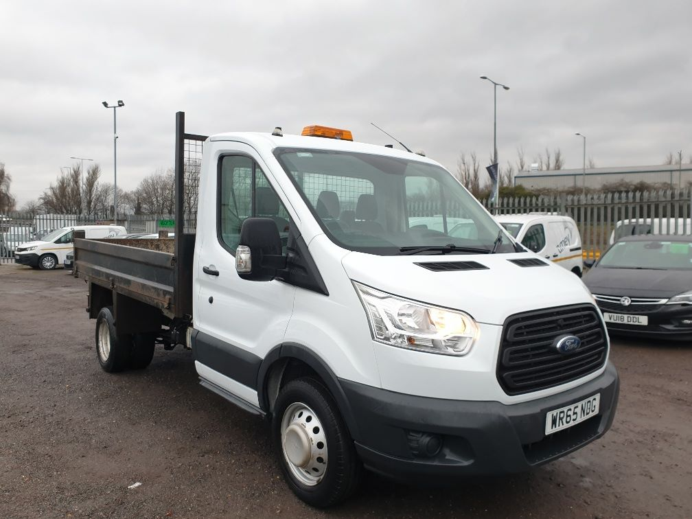 2015 Ford Transit 350 L2 SINGLE CAB TIPPER 125PS EURO 5 (WR65NDG)