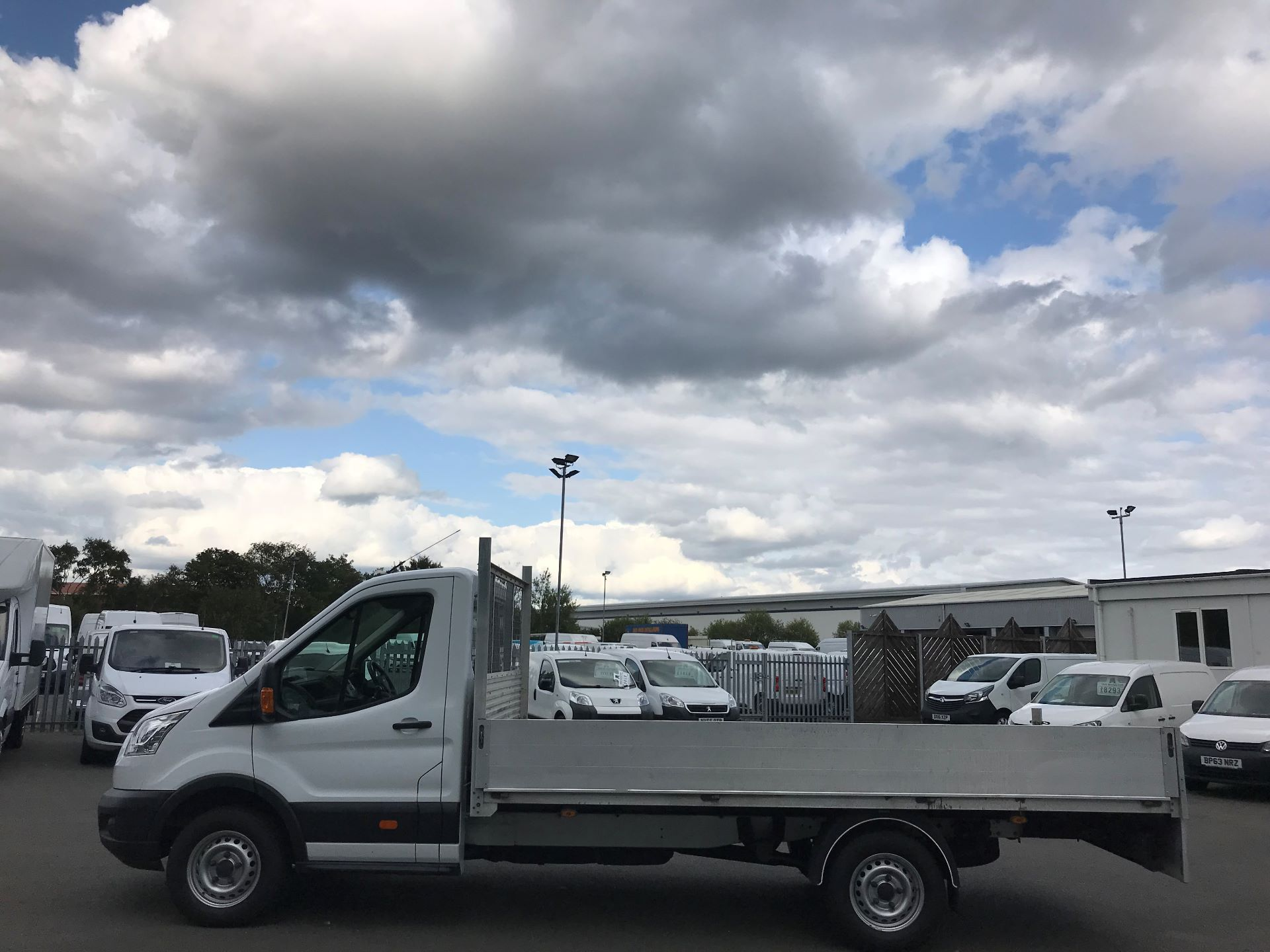 2015 Ford Transit 350 L4 DROP SIDE 125PS EURO 5 (WR65RMX) Image 10
