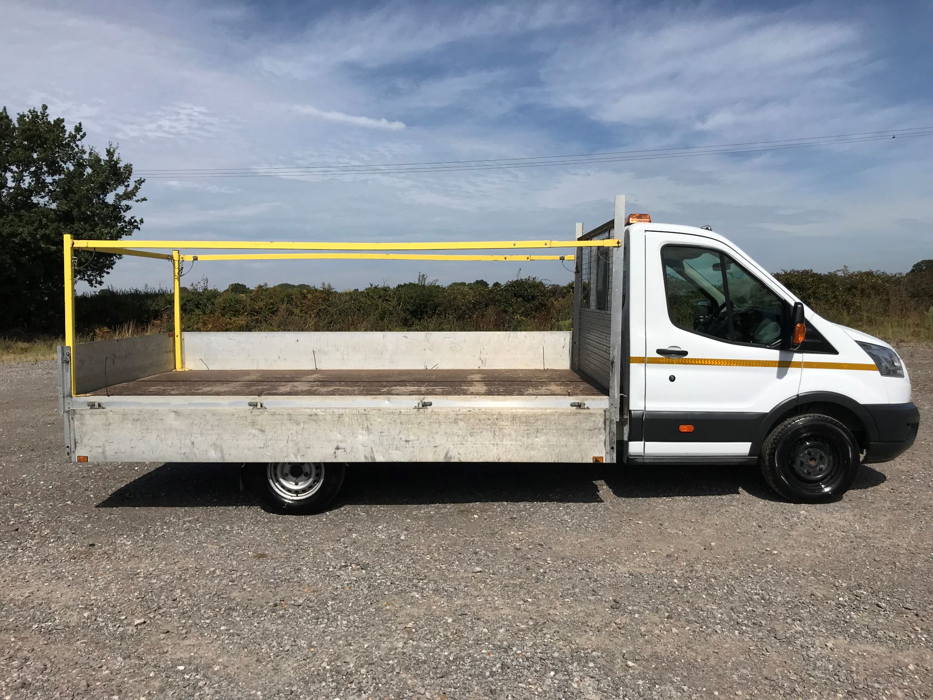 2015 Ford Transit 350 L4 DROP SIDE 125PS EURO 5 (WR65RMY) Image 8