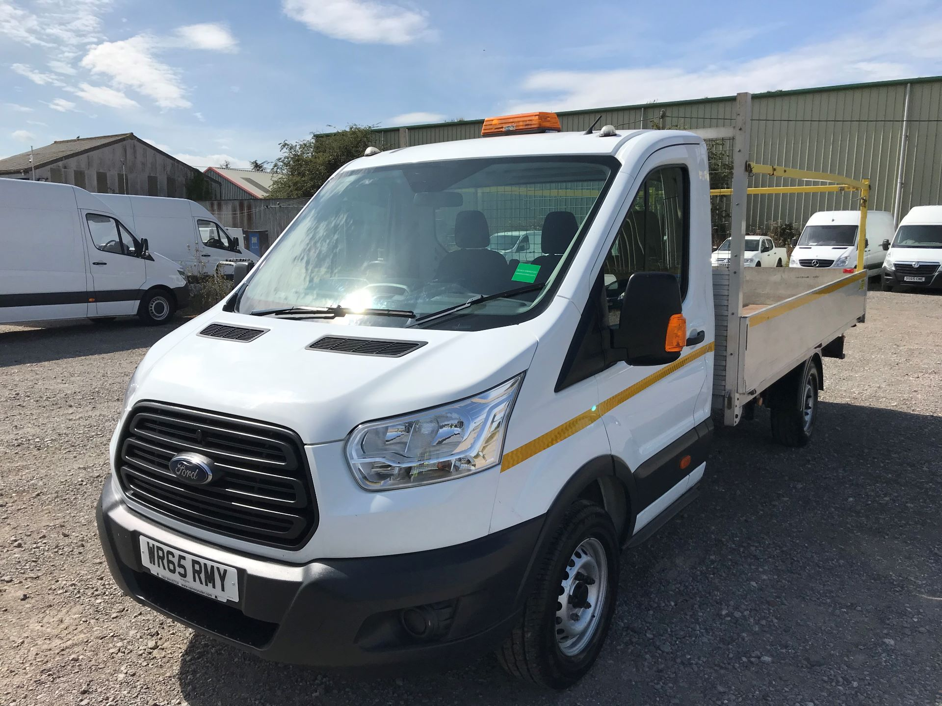 2015 Ford Transit 350 L4 DROP SIDE 125PS EURO 5 (WR65RMY) Image 3