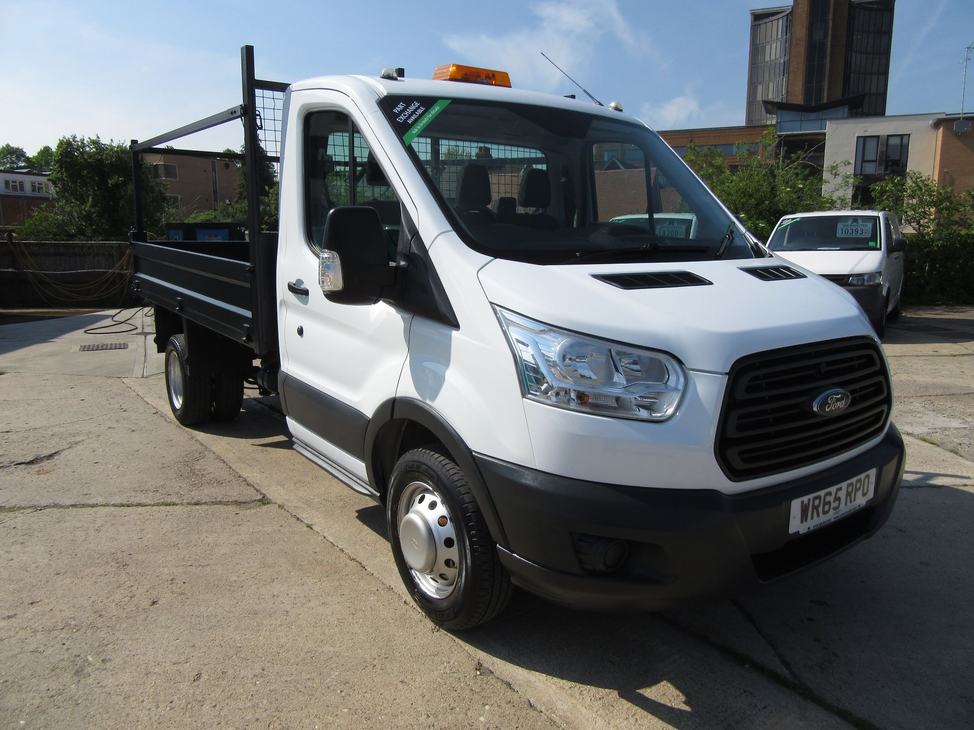 2015 Ford Transit  350 L2 SINGLE CAB TIPPER 100PS EURO 5 (WR65RPO)