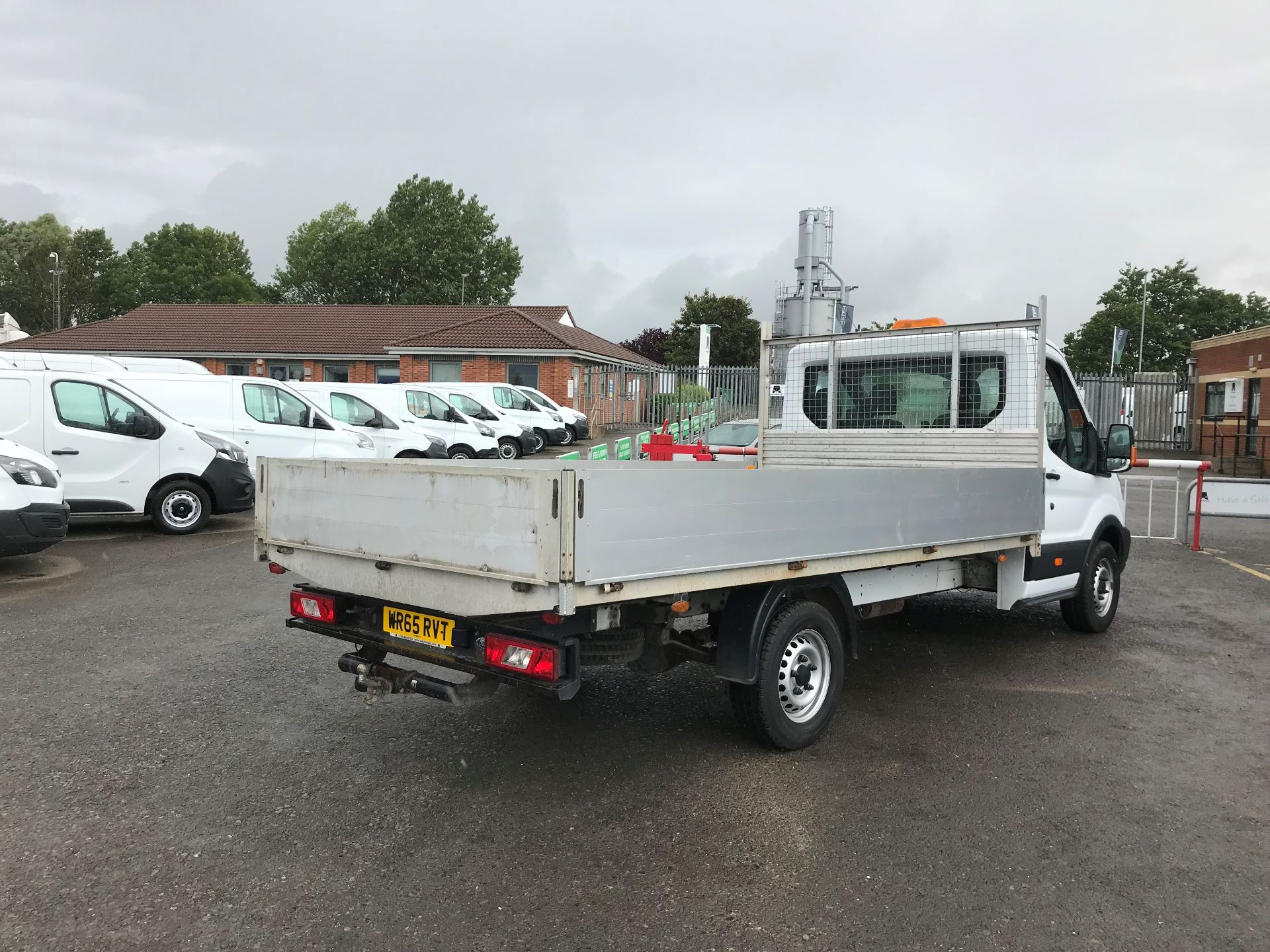 2015 Ford Transit 2.2 Tdci 125Ps Chassis Cab (WR65RVT) Image 4