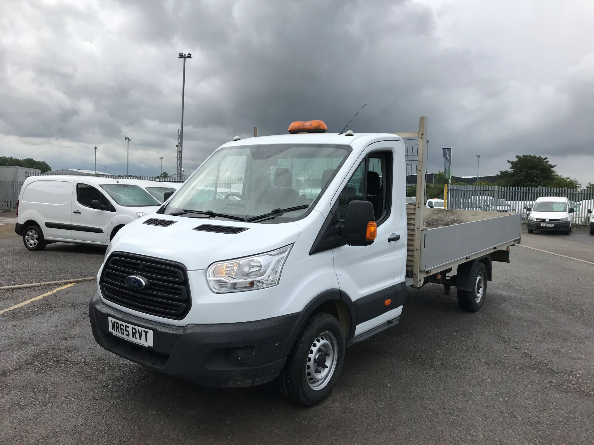 2015 Ford Transit 2.2 Tdci 125Ps Chassis Cab (WR65RVT) Image 8