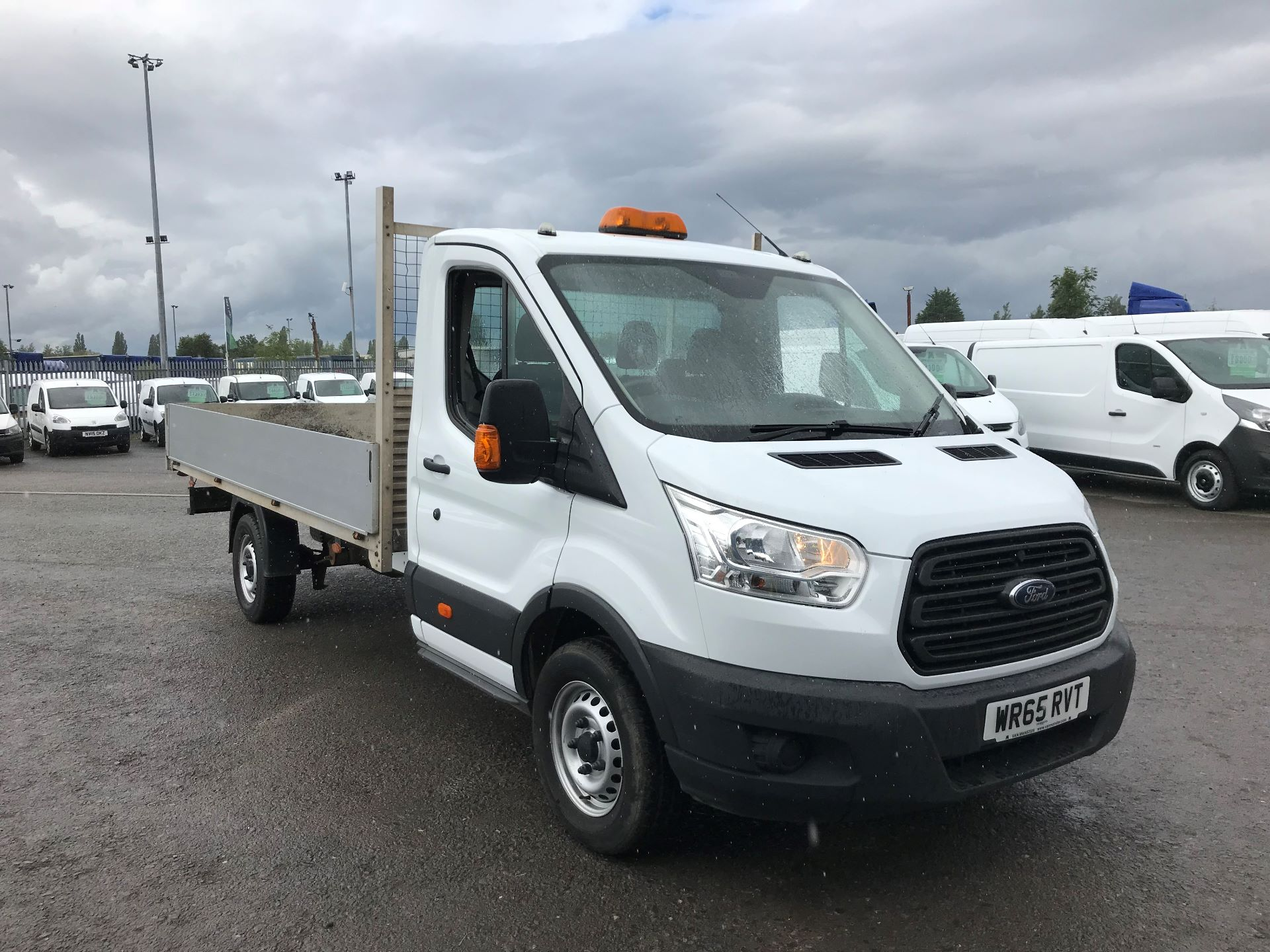 2015 Ford Transit 2.2 Tdci 125Ps Chassis Cab (WR65RVT)