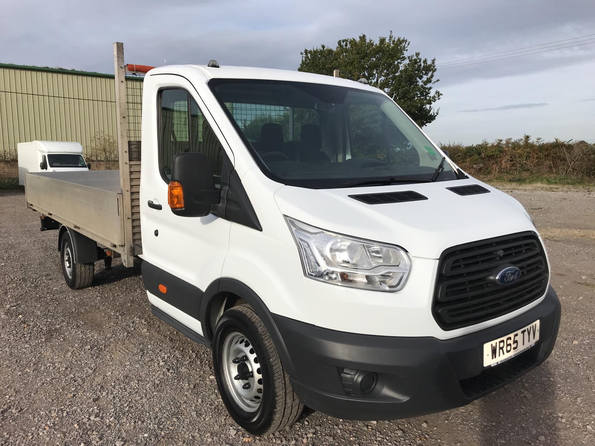 2015 Ford Transit 350 L4 DROP SIDE 125PS EURO 5  (WR65TYV)