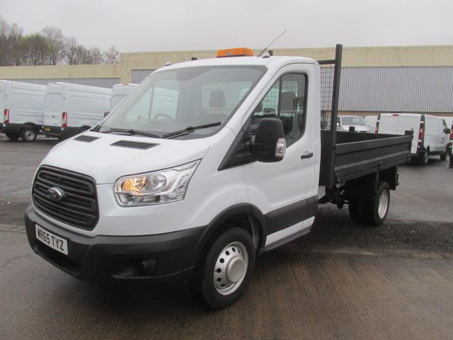 2015 Ford Transit 350 L2 SINGLE CAB TIPPER 125PS EURO 5 (WR65TYZ) Image 17