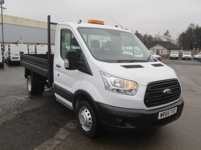 2015 Ford Transit 350 L2 SINGLE CAB TIPPER 125PS EURO 5 (WR65TYZ) Image 1
