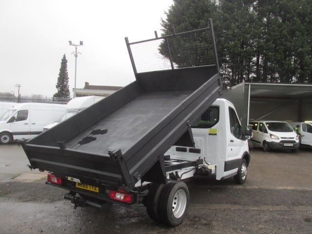 2015 Ford Transit 350 L2 SINGLE CAB TIPPER 125PS EURO 5 (WR65TYZ) Image 10
