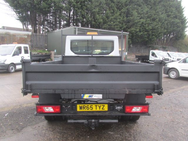 2015 Ford Transit 350 L2 SINGLE CAB TIPPER 125PS EURO 5 (WR65TYZ) Image 12