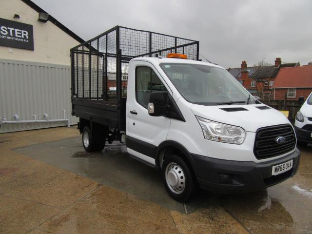 2015 Ford Transit 2.2 Tdci 125Ps Caged Tipper - (WR65UAA)