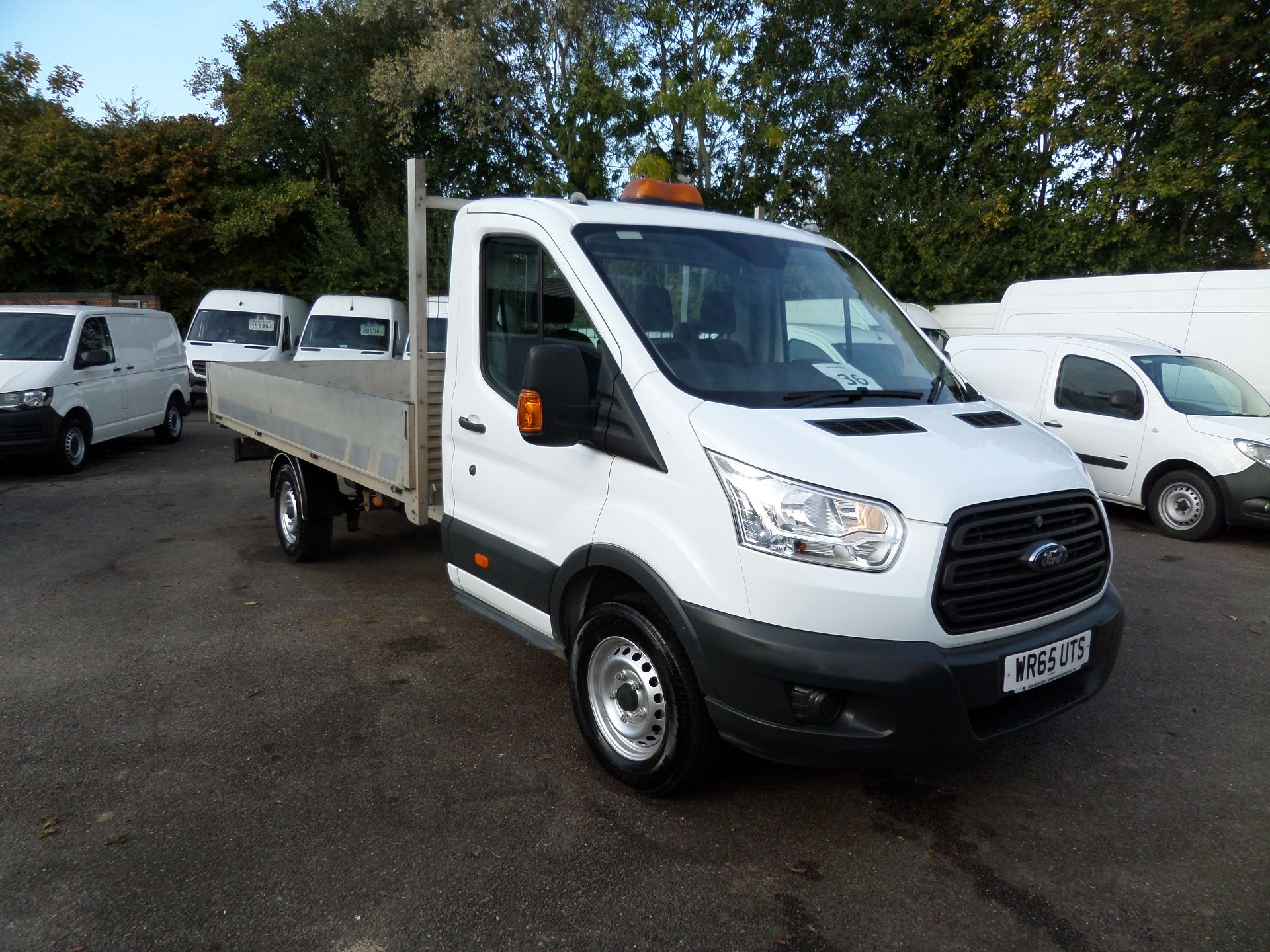 2015 Ford Transit 2.2 Tdci 125Ps Dropside EURO 5 (WR65UTS)