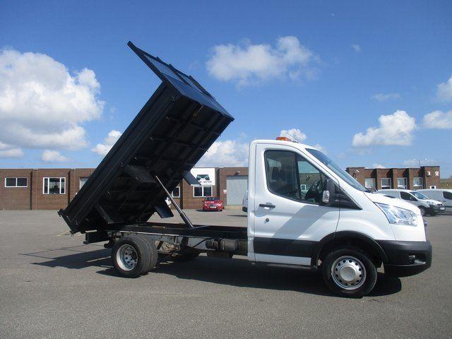 2015 Ford Transit 350 L2 SINGLE CAB TIPPER 125PS EURO 5 (WR65UUG) Image 9