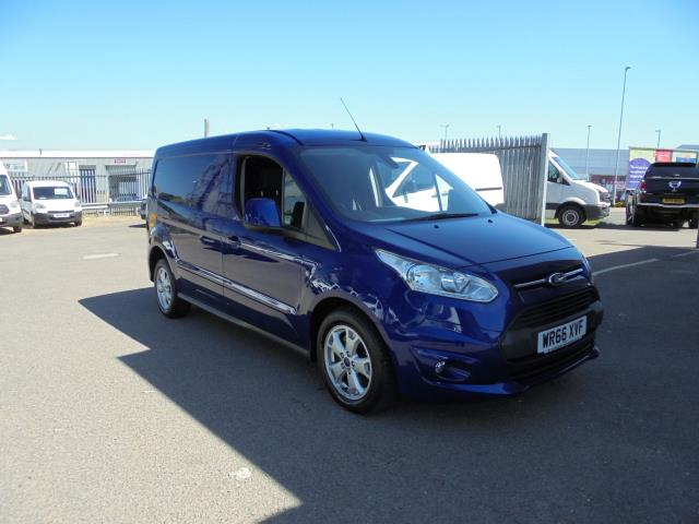 2016 Ford Transit Connect 240 L2 DIESEL 1.6 TDCI 95PS LIMITED VAN EURO 5 (WR66XVF)