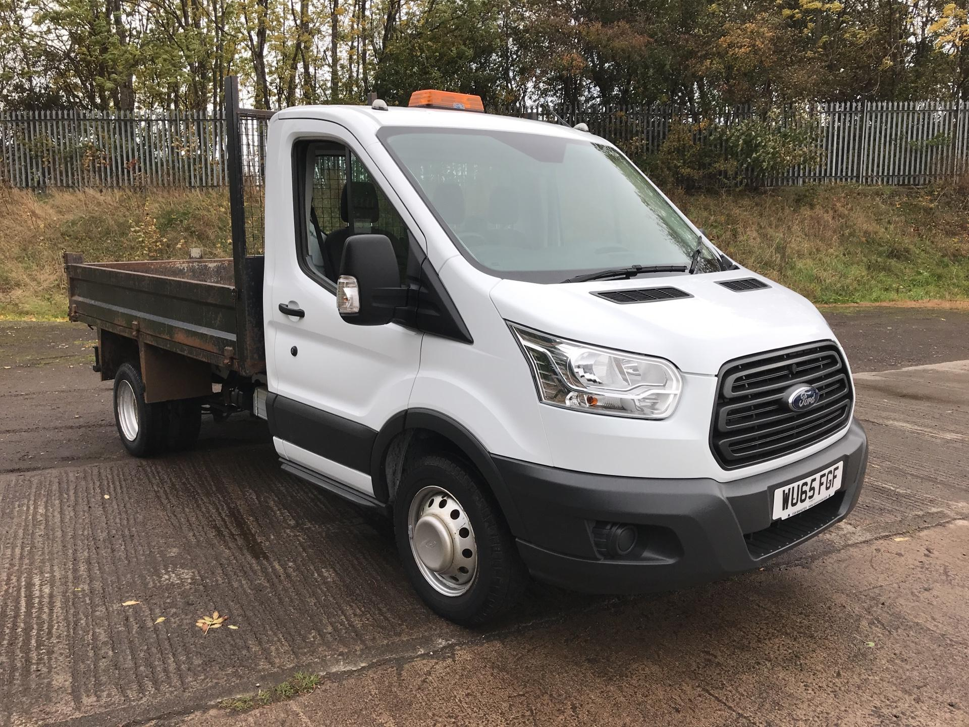 2015 Ford Transit 350 L2 SINGLE CAB TIPPER 125PS EURO 5 (VALUE RANGE VEHICLE - CONDITION REFLECTED IN PRICE) (WU65FGF)