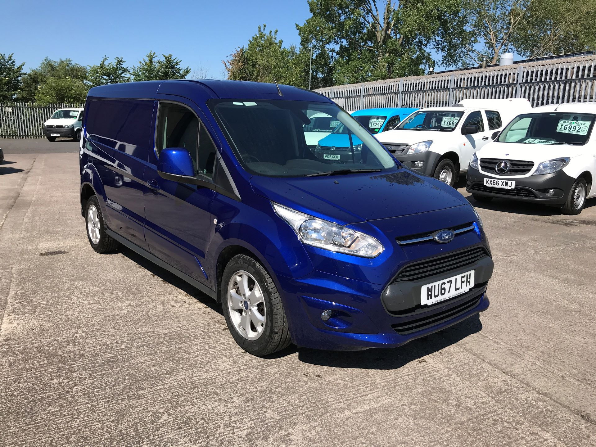 2017 Ford Transit Connect 240 L2 H1 1.5TDCI 120PS LIMITED EURO 6 (WU67LFM)