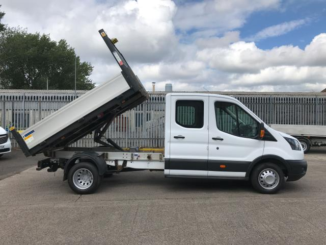 2017 Ford Transit T350 DOUBLE CAB TIPPER 130PS EURO 6 (WU67ZCL) Image 5