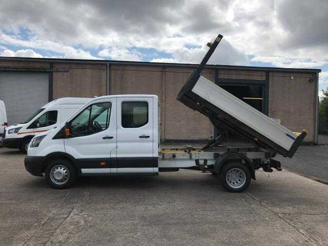 2017 Ford Transit T350 DOUBLE CAB TIPPER 130PS EURO 6 (WU67ZCL) Image 6