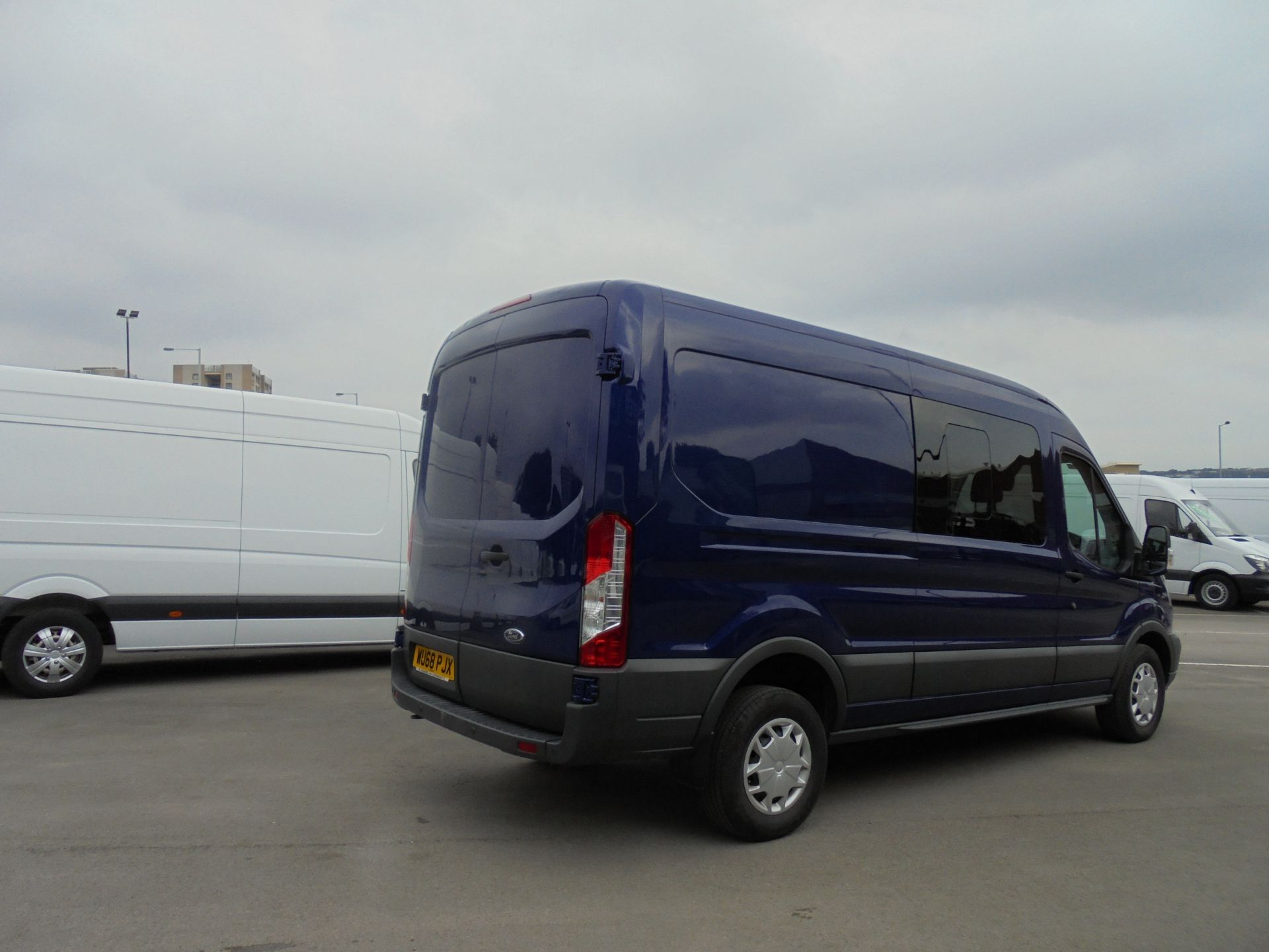 2018 Ford Transit 2.0 Tdci 130Ps H2 D/Cab Van Air/con (WU68PJX) Image 37