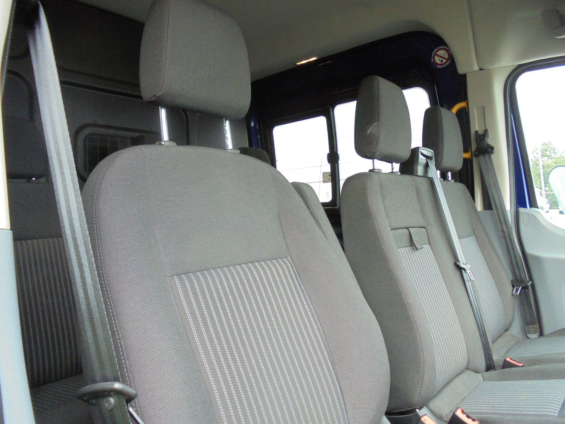 2018 Ford Transit 2.0 Tdci 130Ps H2 D/Cab Van Air/con (WU68PJX) Image 19