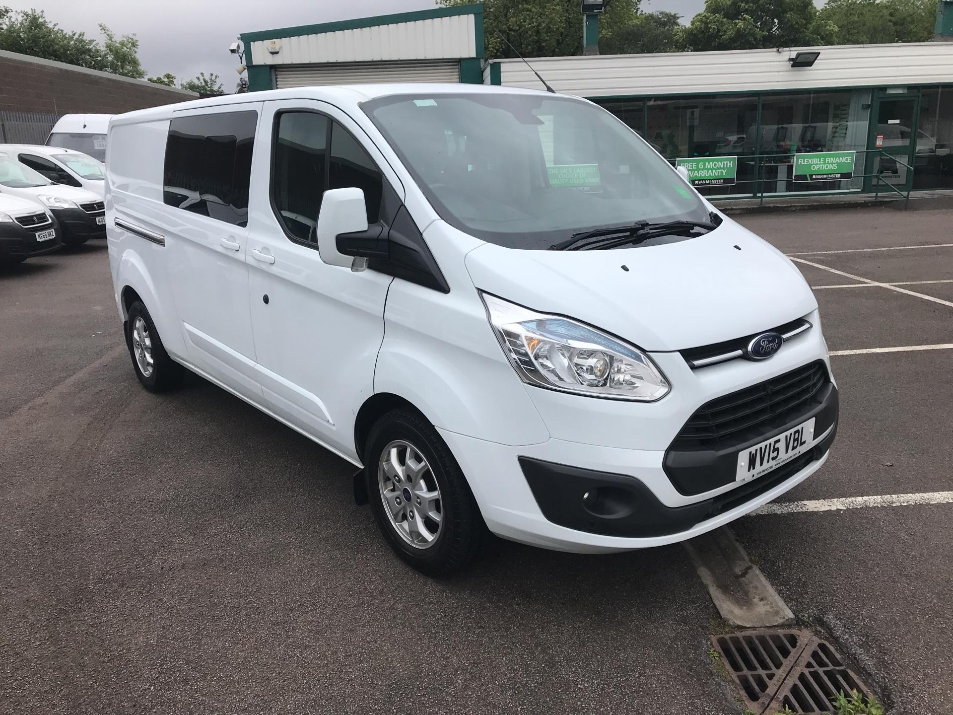 2015 Ford Transit Custom  290 L2 DIESEL FWD 2.2 TDCI 125PS LOW ROOF D/CAB LIMITED VAN EURO 5 (WV15VBL)
