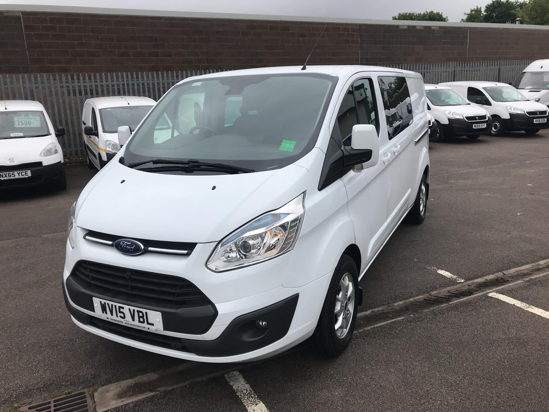 2015 Ford Transit Custom  290 L2 DIESEL FWD 2.2 TDCI 125PS LOW ROOF D/CAB LIMITED VAN EURO 5 (WV15VBL) Image 7