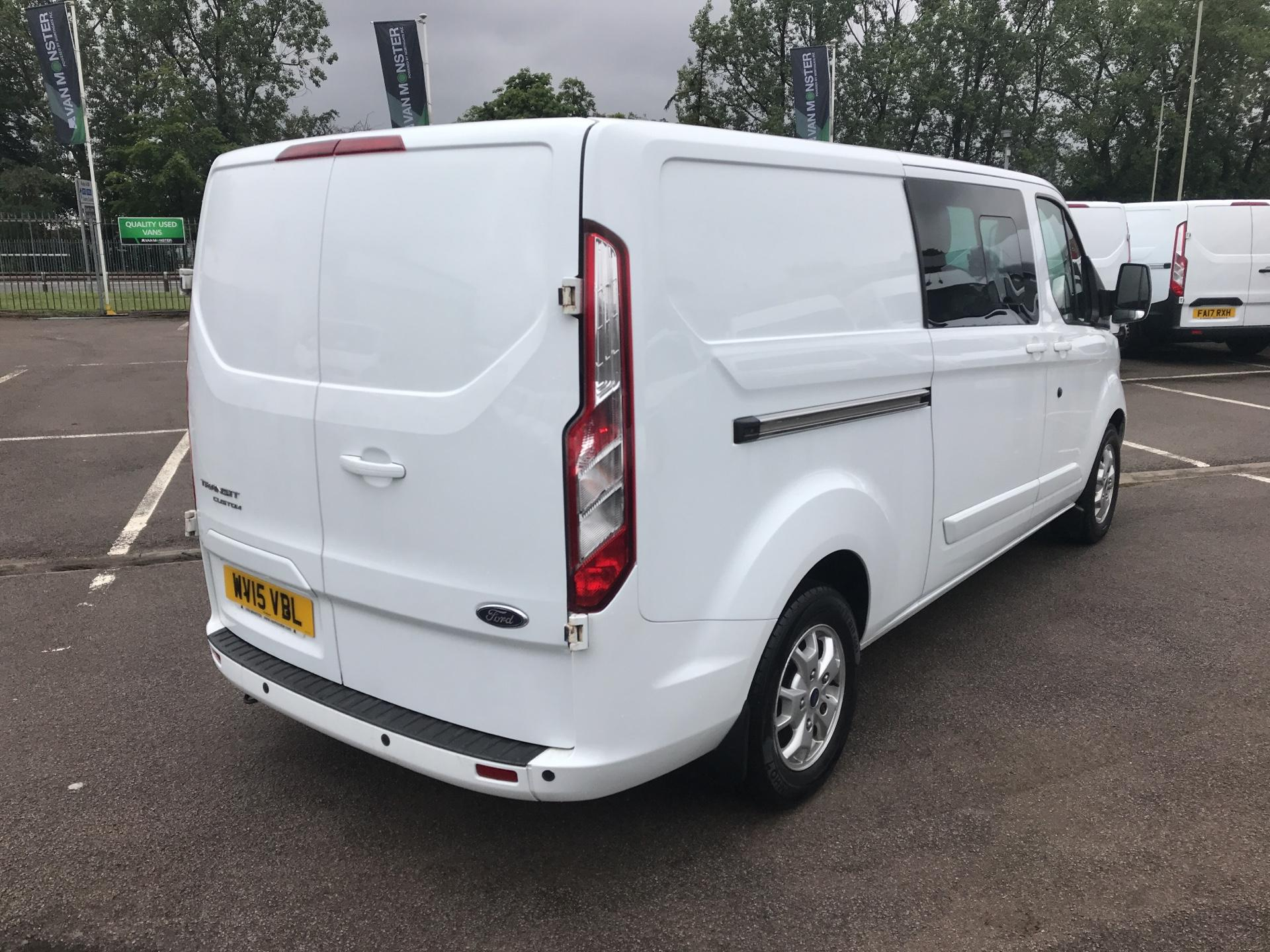 2015 Ford Transit Custom  290 L2 DIESEL FWD 2.2 TDCI 125PS LOW ROOF D/CAB LIMITED VAN EURO 5 (WV15VBL) Image 3