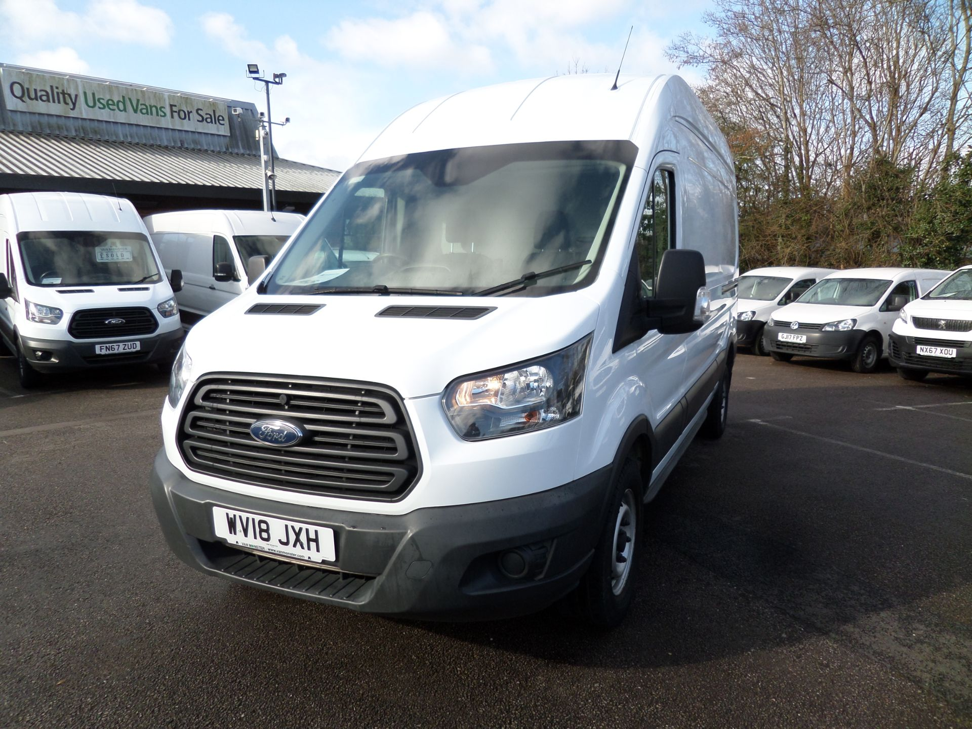 2018 Ford Transit 2.0 Tdci 130Ps H3 Van Euro 6 (WV18JXH) Image 9