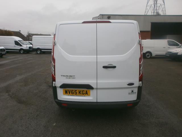 2015 Ford Transit Custom L1 SWB 2.2 Tdci 100Ps Low Roof Van EURO 5 (WV65KGA) Image 6